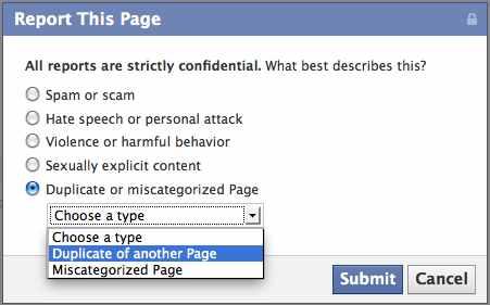Remove A Duplicate Company Page