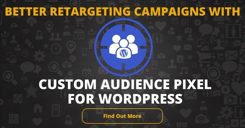 Custom Audience Pixel for WordPress