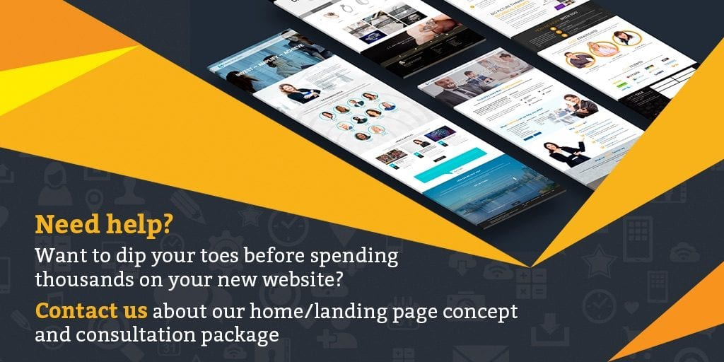 Home/Landing Page Concept & Consult